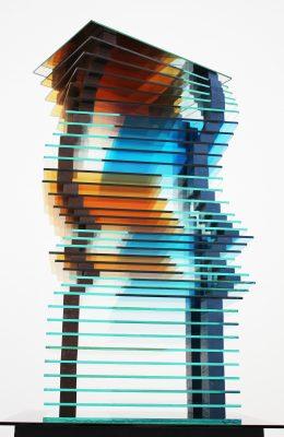 smokers — 2005<br>72 × 45 × 24 cm