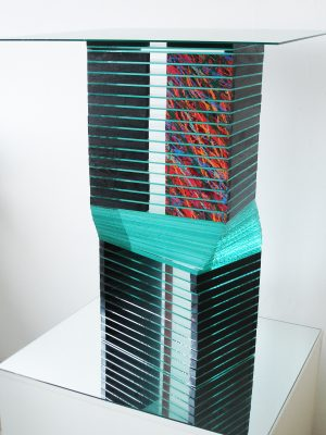 different rooms — 2005<br>76 × 34 × 25 cm