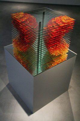 zora — 2008<br>29 × 37 × 37 cm