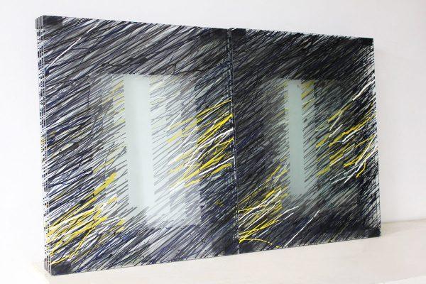 za — 2010<br>45 × 70 × 13 cm