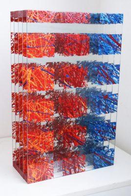 šestnáct a půl — 2010<br>50 × 30 × 14 cm
