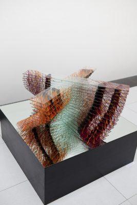 kolotoč i — 2007<br>40 × 100 × 100 cm