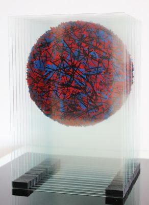 satelit ― 2013<br>24 × 35 × 24 cm