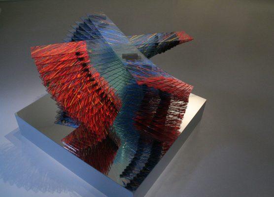 kolotoč ii ― 2006<br>35 × 100 × 100 cm