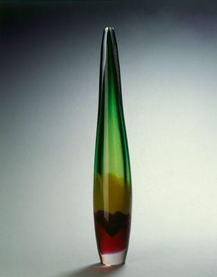 zelená váza<br>1958