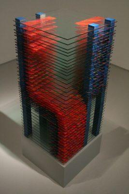 milenci ― 2004<br>70 × 40 × 40 cm