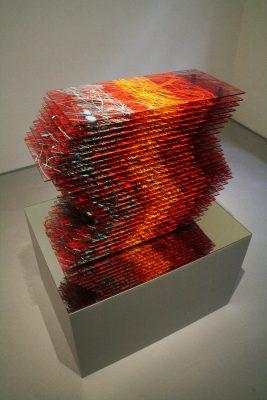 stromy II ― 2008<br>69 × 70 × 28 cm