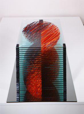 prostor — 2002<br>30 × 34 × 34 cm