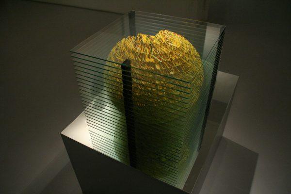 měsíc ― 2008<br>40 × 39 × 39 cm
