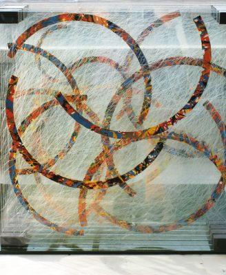 šum — 2010<br>39 × 39 × 12 cm